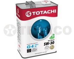 Масло моторное TOTACHI Eco Diesel 5W-30 CI-4/CH-4/SL (4л) полусинтетика