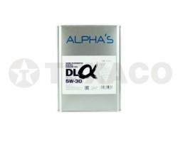 Масло моторное ALPHA'S DL SEMI-SYNTHETIC DIESEL 5W-30 CF-4 (4л)