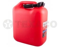 Канистра SKYWAY пластиковая для топлива 20л S02602003