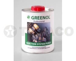 Промывка систем впрыска бензиновых двигателей GREENOL (1л)