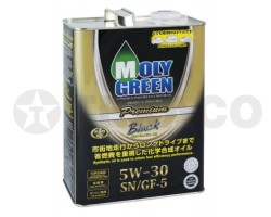 Масло моторное MOLY GREEN BLACK 5W-30 SN/GF-5 (4л)