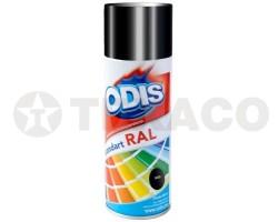 Краска-спрей ODIS черная глянцевая (450мл)