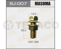Болт с гайкой MASUMA M10х25x1.25 (2шт)