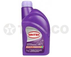 Антифриз SINTEC MULTI FREEZE -40 фиолетовый (1кг)