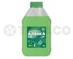 Антифриз АЛЯСКА -40 зеленый (1кг)