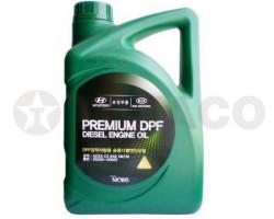 Масло моторное HYUNDAY/KIA PREMIUM DPF DIESEL 5W-30 C3 (6л)-синтетика