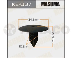 Клипса автомобильная MASUMA KE-037