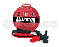 Провода стартовые 600А ALLIGATOR 3м ( в сумке)