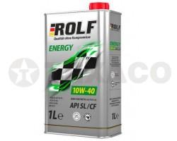 Масло моторное ROLF Energy 10W-40 SL/CF (1л) п/синт