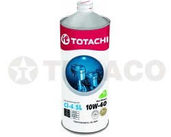 Масло моторное TOTACHI Eco Diesel 10W-40 CI-4/CH-4/SL (1л) полусинтетика