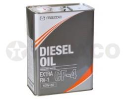 Масло моторное MAZDA Diezel Oil Extra RV-1 CF-4 10W30 (4л)