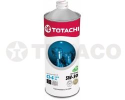 Масло моторное TOTACHI Eco Diesel 5W-30 CI-4/CH-4/SL (1л) полусинтетика