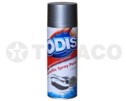 Краска-спрей ODIS серебристый металик (450мл)