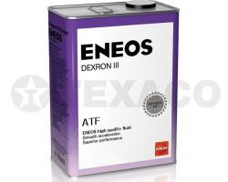 Жидкость для АКПП Eneos DEXRON III (4л)