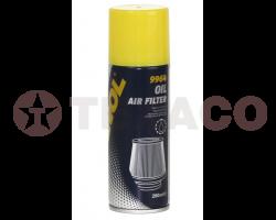Маслянная пропитка воздушных фильров MANNOL (200мл)