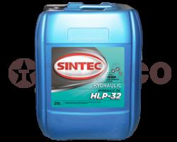 Масло гидравлическое Sintec Hydraulic HLP 32 (20л)