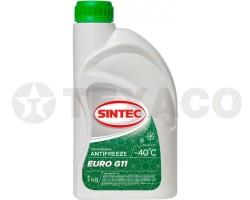 Антифриз SINTEC EURO G11 -40 зеленый (1кг)