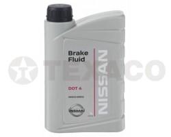 Жидкость тормозная NISSAN DOT-4 (1л)
