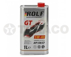Масло моторное ROLF GT 5W-40 SN/CF (1л) синт