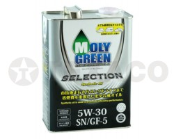 Масло моторное MOLY GREEN SELECTION 5W-30 SN/GF-5 (4л)