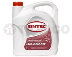 Антифриз SINTEC LUX-OEM G12 красный (5кг)