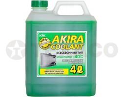 Антифриз AKIRA COOLANT -40 зеленый (4л)