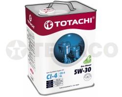 Масло моторное TOTACHI Eco Diesel 5W-30 CI-4/CH-4/SL (6л) полусинтетика