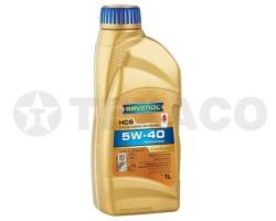 Масло моторное RAVENOL HCS 5W-40 SN/CF A3/B4 (1л)
