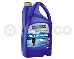 Масло моторное RAVENOL OUTBOARD 2-TAKT TB (4л) минеральное