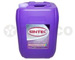 Антифриз SINTEC MULTI FREEZE -40 фиолетовый (10кг)