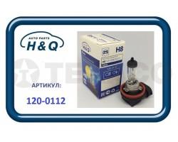 Автолампа H&Q H8 12V-35W (64212)